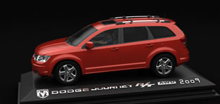 custom 3d animation Dodge Journey Animation