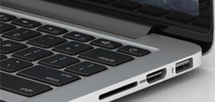 custom 3d Apple MacBook Pro with Retina display 13 inch