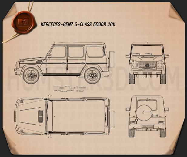 2010 Mercedes Benz G Class Camshaft: Mercedes-Benz G-class 2011 Blueprint Blueprint