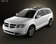 3D model of Dodge Journey R/T 2009