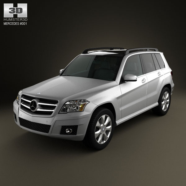 Mercedes-Benz GLK-Class 2010 3d car model