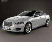 3D model of Jaguar XJ (X351) 2010