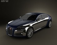 3D model of Bugatti 16C Galibier 2009