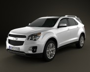 3D model of Chevrolet Equinox 2009