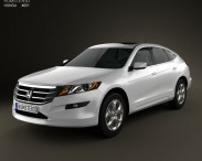 3D model of Honda Accord Crosstour 2010