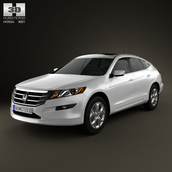 Honda Accord Crosstour 3d car model