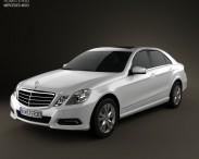 3D model of Mercedes-Benz E-Class 2010