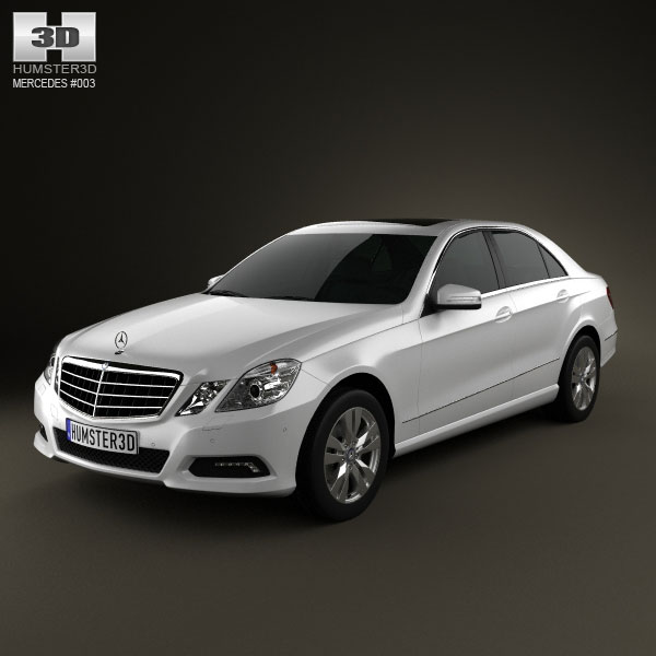 Mercedes-Benz E-Class 2010 3d car model