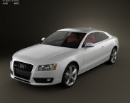 3D model of Audi A5 Coupe