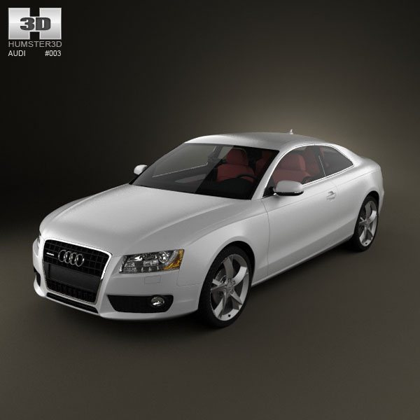 Audi A5 Coupe 3d car model