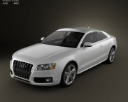 3D model of Audi S5 coupe 2010