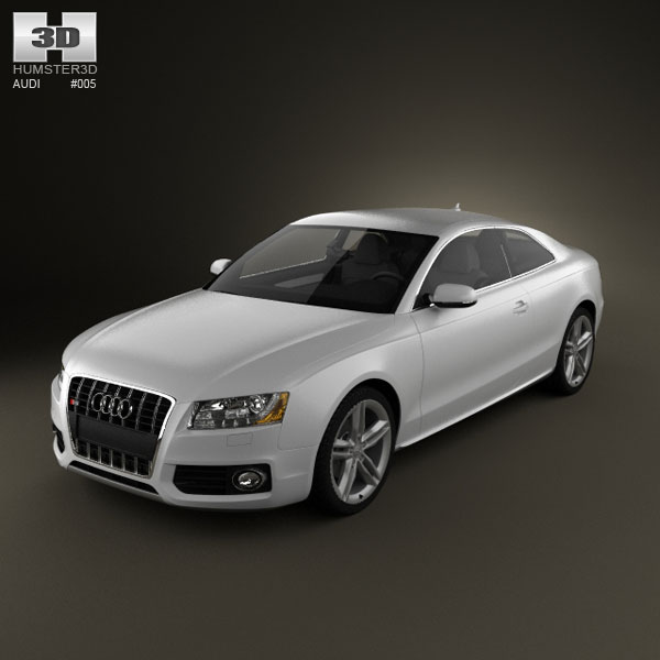 Audi S5 coupe 3d car model