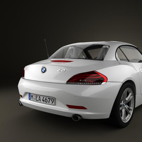 Bmw Z4 Price: BMW Z4 2010 3D Model