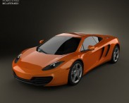 3D model of McLaren MP4-12C 2011