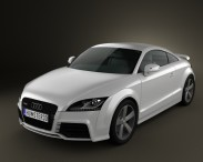 3D model of Audi TT RS 2009