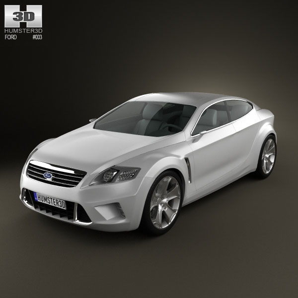 3D model of Ford Iosis Concept