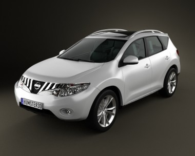 3D model of Nissan Murano 2009