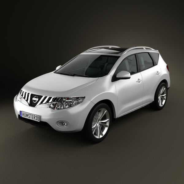 Nissan Murano 2009 3d car model