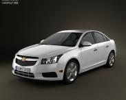 3D model of Chevrolet Cruze (J300) 2011