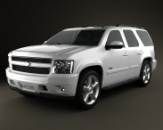 3D model of Chevrolet Tahoe (GMT900) 2010