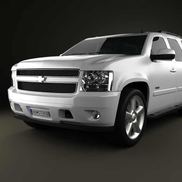 chevrolet tahoe gmt900 2010 3d model humster3d. Black Bedroom Furniture Sets. Home Design Ideas