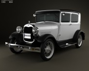 3D model of Ford Model A Tudor 1929