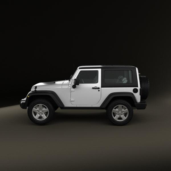 jeep wrangler rubicon hardtop 2010 3d model humster3d. Black Bedroom Furniture Sets. Home Design Ideas
