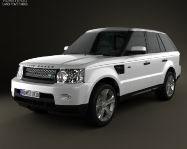 3D model of Land Rover Range Rover Sport 2011