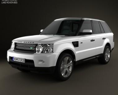 3D model of Land Rover Range Rover Sport 2011