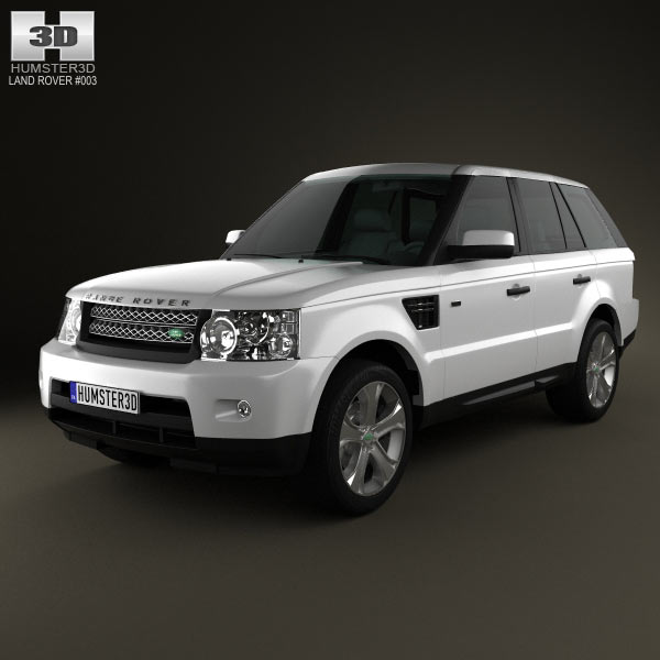 Land Rover Range Rover Sport 2011 3d car model