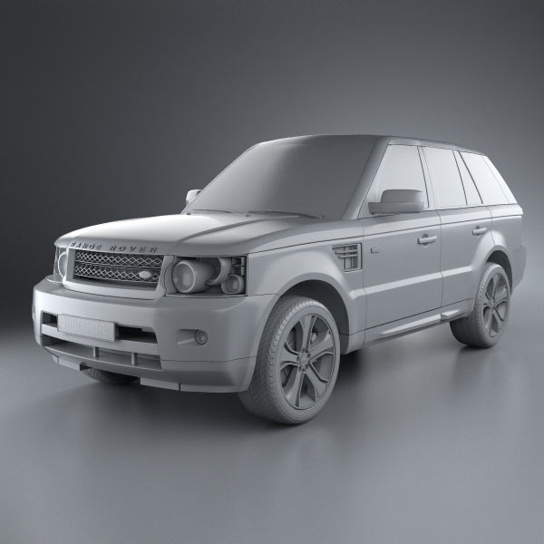 Land Rover Range Rover L405 2014 3d Model From Humster3d: Land Rover Range Rover Sport 2011 3D Model