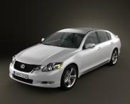 3D model of Lexus GS (S190) 2010