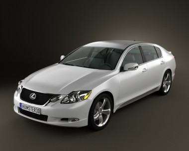 3D model of Lexus GS (S190) 2010