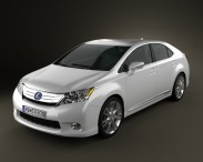 3D model of Lexus HS 2010