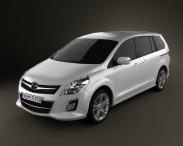 3D model of Mazda 8 MPV 2010