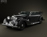 3D model of Mercedes-Benz 770K 1936