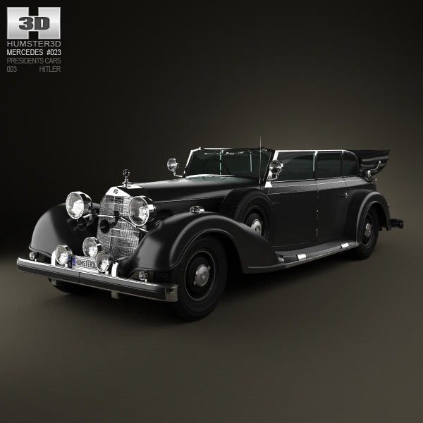 Mercedes-Benz 770K 1936 3d car model