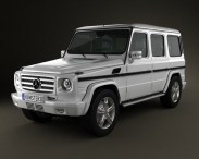 3D model of Mercedes-Benz G-class 2011
