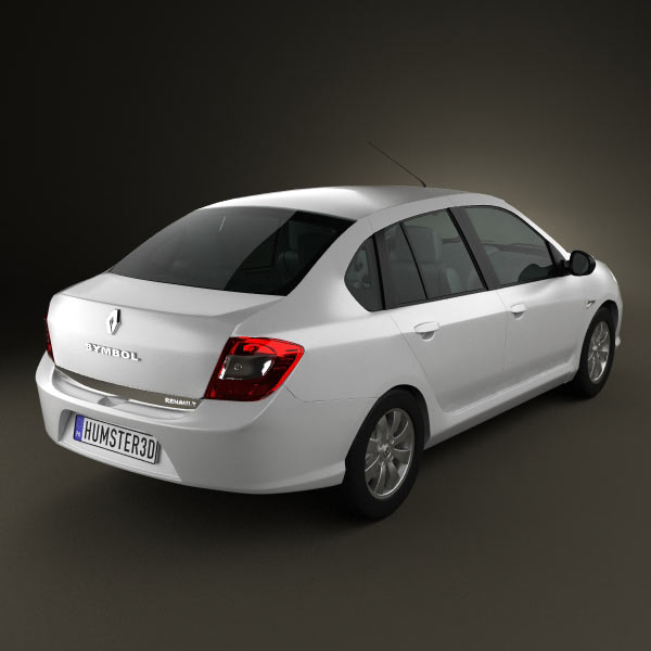 Renault Symbol 2010 3d model