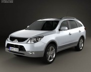 3D model of Hyundai ix55 Veracruz 2011