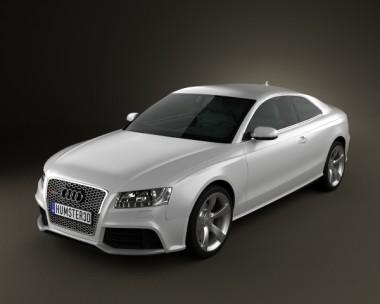 3D model of Audi RS5 2011
