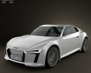 3D model of Audi e-tron Concept