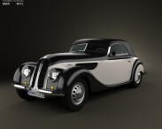 3D model of BMW 327 cabriolet 1937