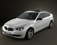 3D model of BMW 5 series Gran Turismo 2011