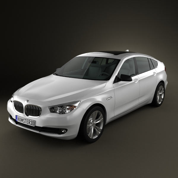 BMW 5 series Gran Turismo 2011 3d car model