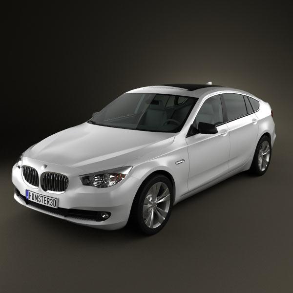 BMW 5 series Gran Turismo 2011 3d car model