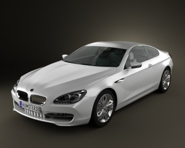 3D model of BMW 6 Series F12/F13 Coupe Concept