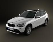 3D model of BMW X1 2010