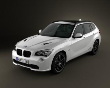 3D model of BMW X1 2010 AC Schnitzer