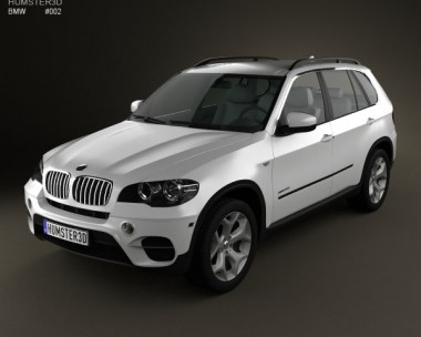 3D model of BMW X5 E70 2011